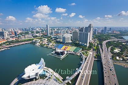 2011,07,20スカイパークよりシンガポールの街並b.jpg