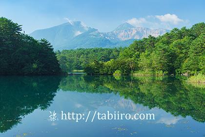 2015,08,07毘沙門沼より磐梯山001a.jpg