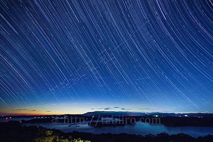 2015,11,10桐垣展望台より英虞湾の星空a.jpg