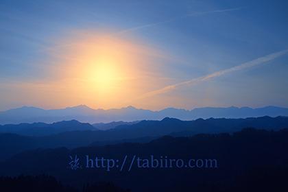2017,04,04早春の北アルプスの夕日108a.jpg