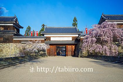 2017,04,13桜咲く上田城東虎口櫓門096a.jpg
